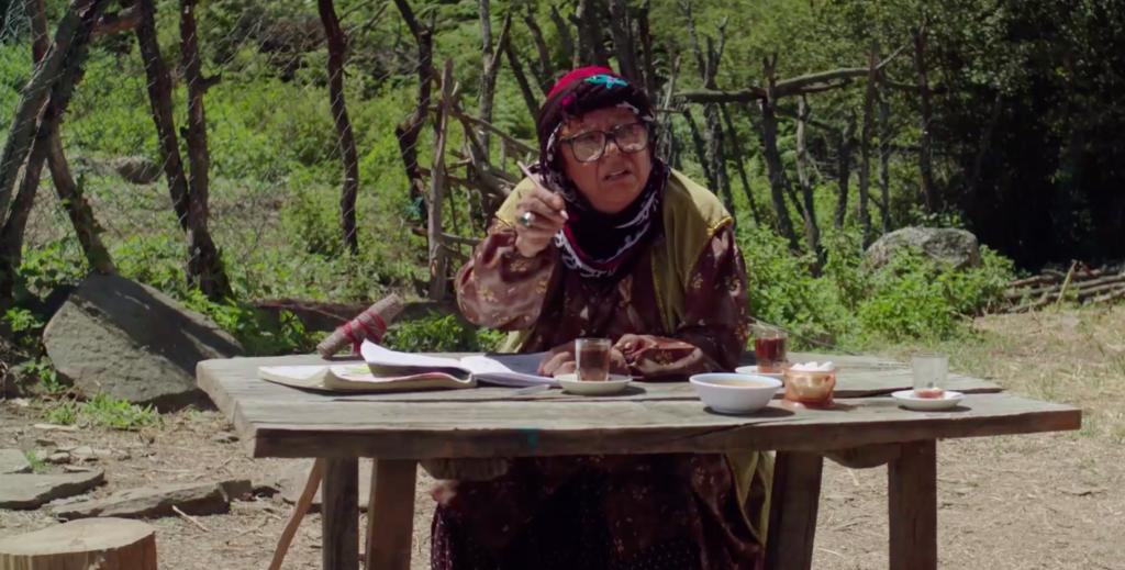 イラン映画「自転車」のいち場面