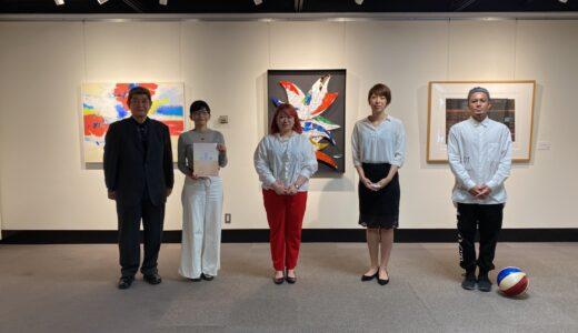 開催中の沖縄縄県芸術文化祭特別展にて映像制作およびリーフレット制作を担当